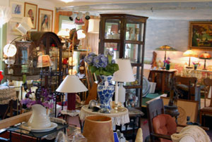 Roger's Antiques  Lamps Lighting