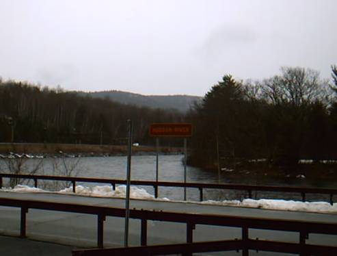 Hudson River Fishing and Canoes Access Point in North River right on NY 28